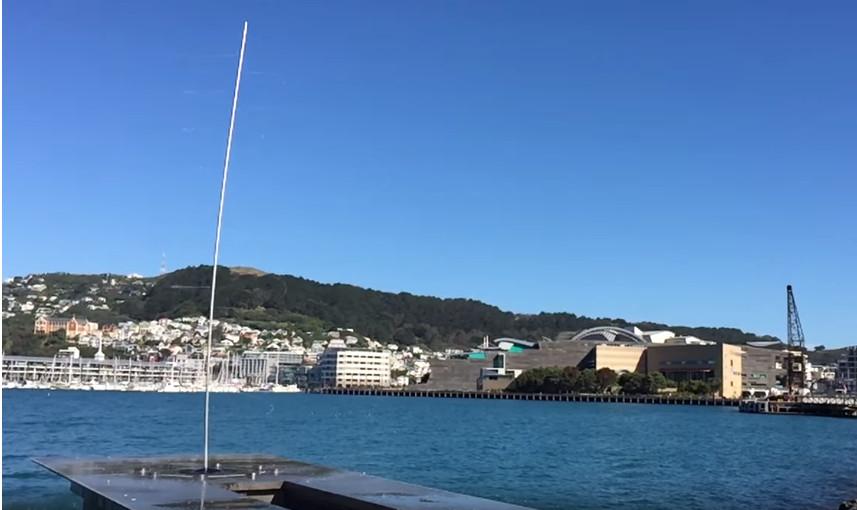 ▲▼紐西蘭裝置藝術Water Whirler。(圖/翻攝自YouTube/Martyn Hall)