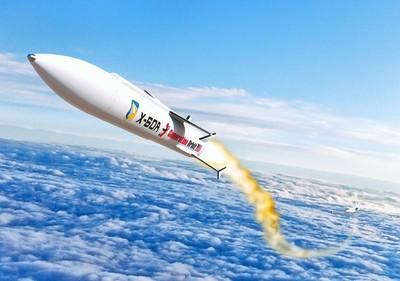 美X-60A液體火箭 比音速快7倍
