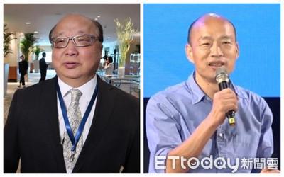 胡志強、韓國瑜比一比 誰是最清秀禿頭