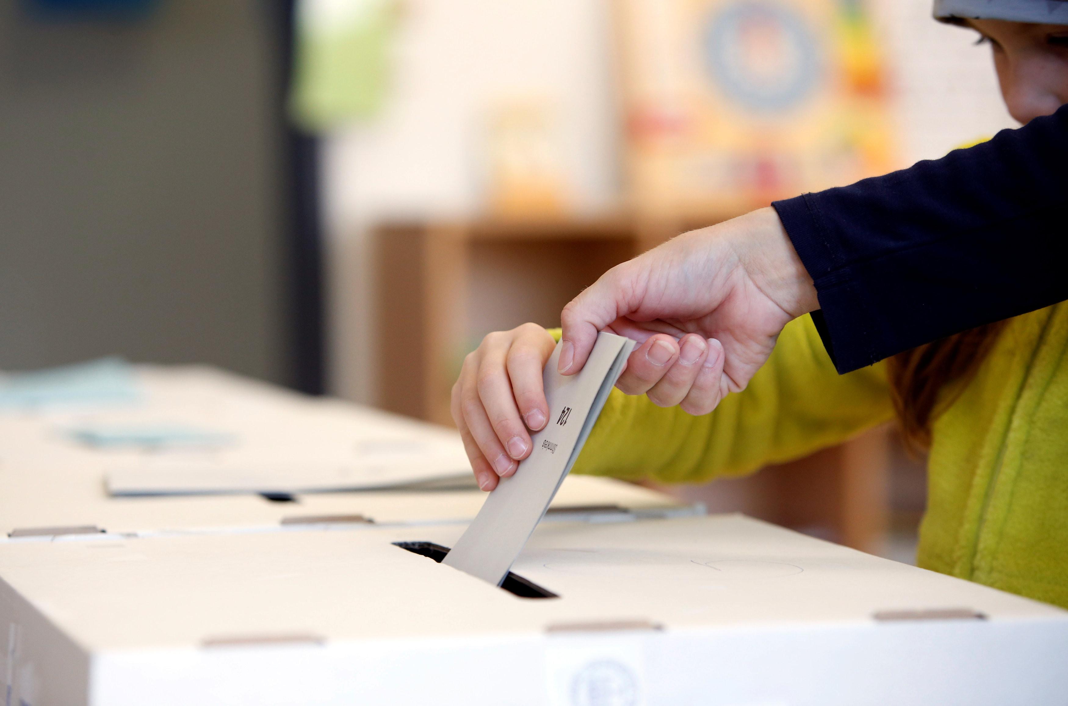 ▲▼ 德國地方選舉,選舉,投票。(圖/路透)