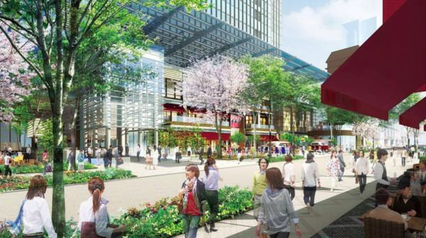 ▲日本三井在日本橋室町的新大樓,將進駐誠品生活。(圖/攝日本三井不動產)