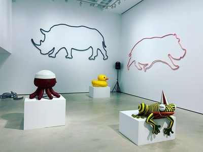 黃色小鴨「霍夫曼台北個展」免費看