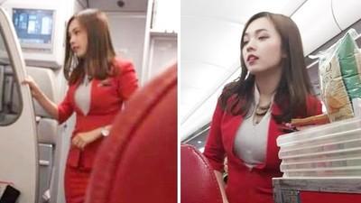 堪稱「亞洲最美空姐」外國乘客搭機隨手拍兩張照,意外捧紅她!