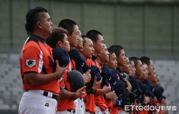 ▲莊敬高職棒球隊。(圖/記者張克銘攝)