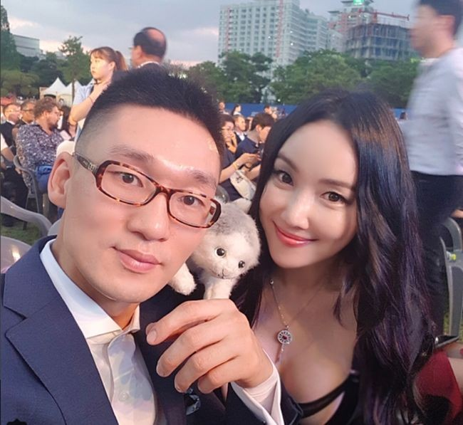 ▲▼Nancy Lang與前夫王陳陳(圖/翻攝自Instagram@nancylang_art)