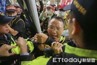 影/慘賠40億!逾80名投資受害者硬闖金管會 與警方爆激烈衝突