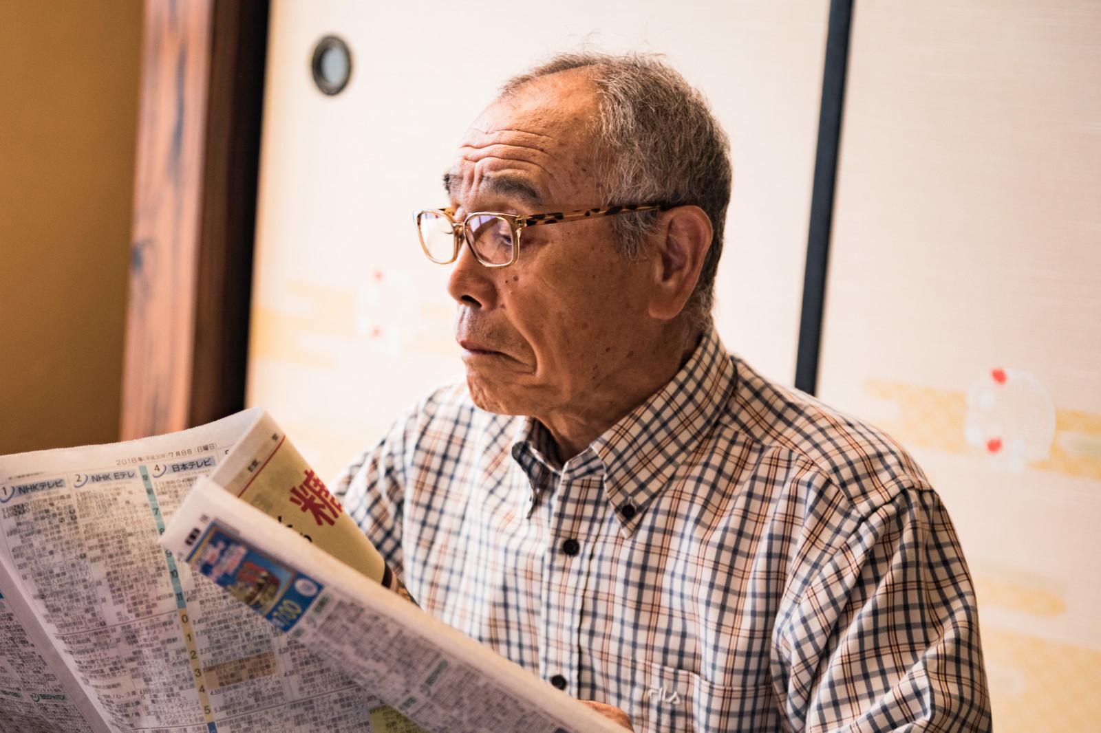 ▲▼ 報紙,老人。(圖/取自免費圖庫pakutaso)