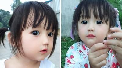 堪稱「東方芭比」!泰1歲女娃萌臉真相曝光 母坦承:修出來的