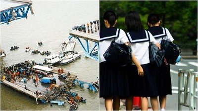 24年前漢江聖水大橋崩塌 通勤女學生半路墜河 書包藏著給父親的信