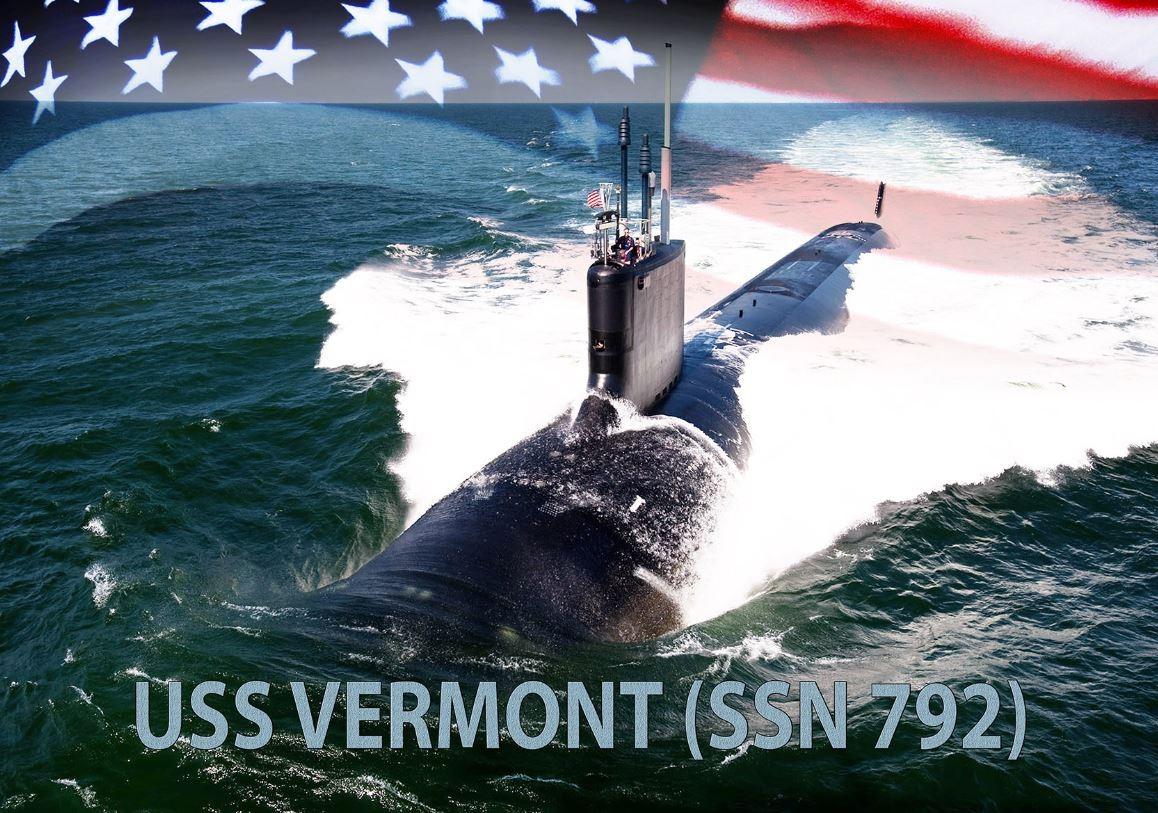 ▲▼維吉尼亞級核動力攻擊潛艦佛蒙特號。(圖/翻攝自美國海軍官網)