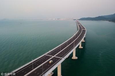 港珠澳大橋總設計師:建台海通道很有信心