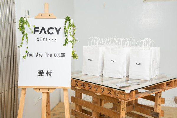▲FACY「You Are The COLOR 」活動。(圖/FACY)