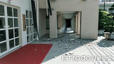 警政署天花板掉石 警署編列預算修復