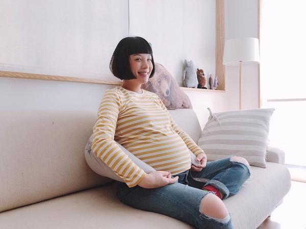 ▲魏如萱懷孕11個月,被說走樣。(圖/翻攝自Facebook/魏如萱)
