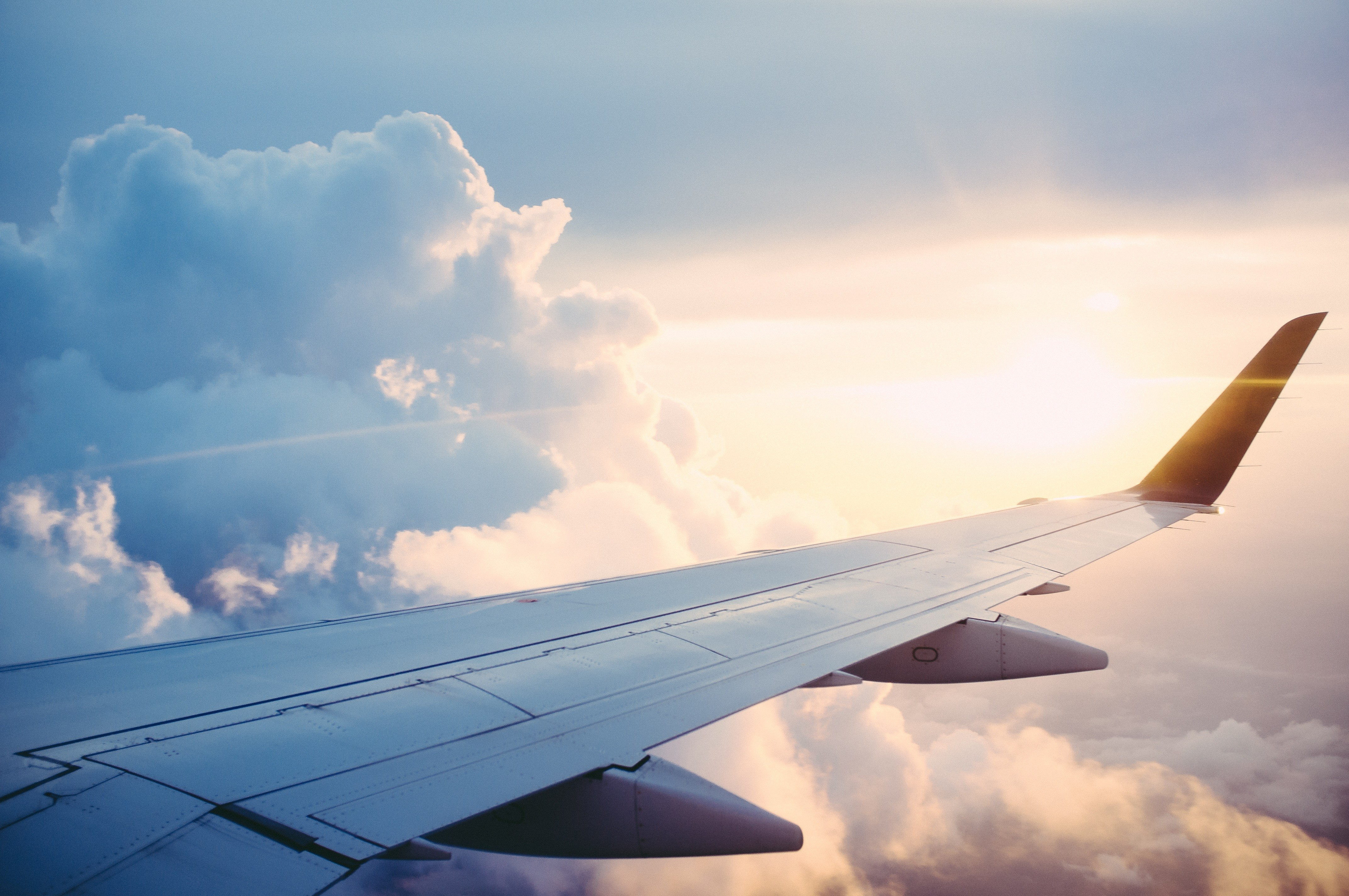 ▲▼ 天空,飛機,雲。(圖/免費圖庫pxhere)