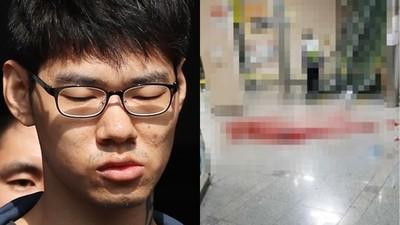 首爾網咖未來帥模特遭殺 兇嫌被逮秒稱有憂鬱症 身上刺青引發討論