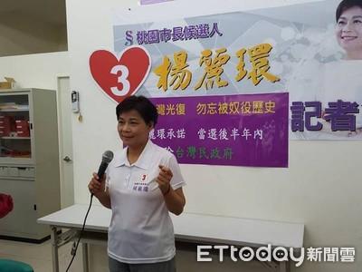 楊麗環承諾 當選拆民政府