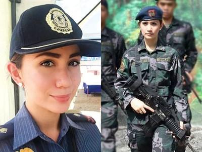 美到「被杜特地欽點當特助」!菲國警界之花,曾入選環球小姐