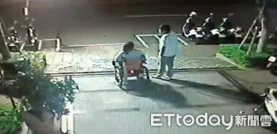 孫違規嗆警 嬤坐輪椅凌晨救他