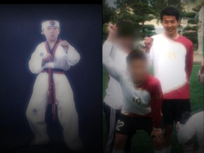 ▲▼遭受雙重打擊的母子(圖/翻攝自Naver TV)