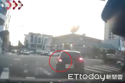 直擊驚險追捕 ㄎㄧㄤ男竟還記得打方向燈