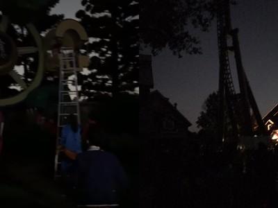 六福村跳電搶修1.5小時恢復電力