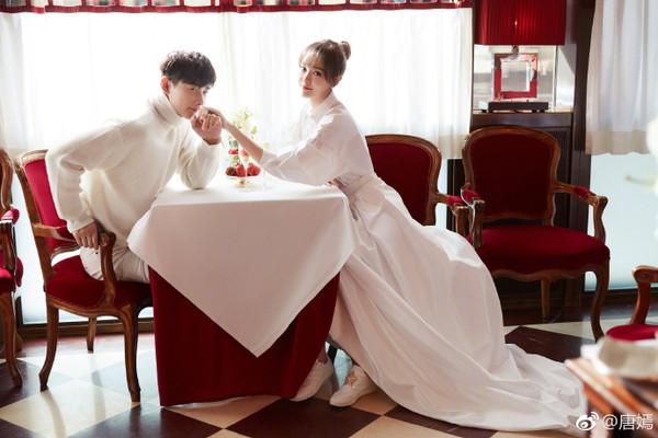 ▲唐嫣結婚。(圖/翻攝自微博/唐嫣)