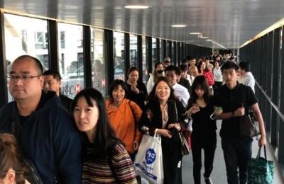 華聞快遞/274名滯留塞班陸客抵達上海