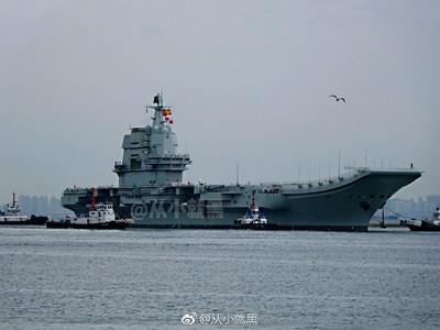 張召忠:002型航母最快年底服役