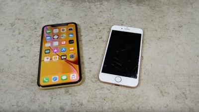 iPhone XR開賣後測試…比i8耐摔