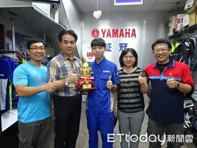 屏東小子勇奪YAMAHA世界服務技能大賽冠軍