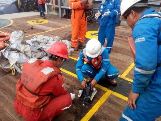 ▲▼ 印尼獅航JT610墜海。(圖/路透社)