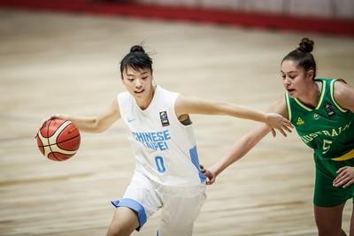 U18亞青女籃 中華慘敗澳洲