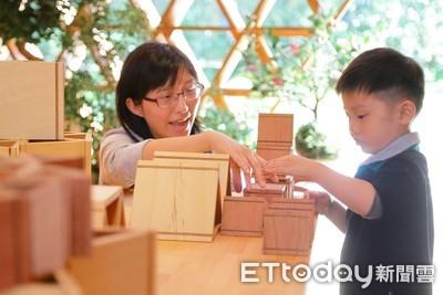 逛花博溜小孩、玩積木 比賽得大獎!