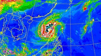 玉兔颱風威力減弱 北部入夜後轉濕涼