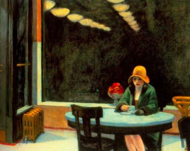 愛德華・霍普80年前的筆下孤獨