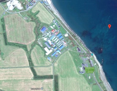 北海道無人小島地圖上憑空消失