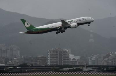 長榮、紐航、新航787客機全亮相