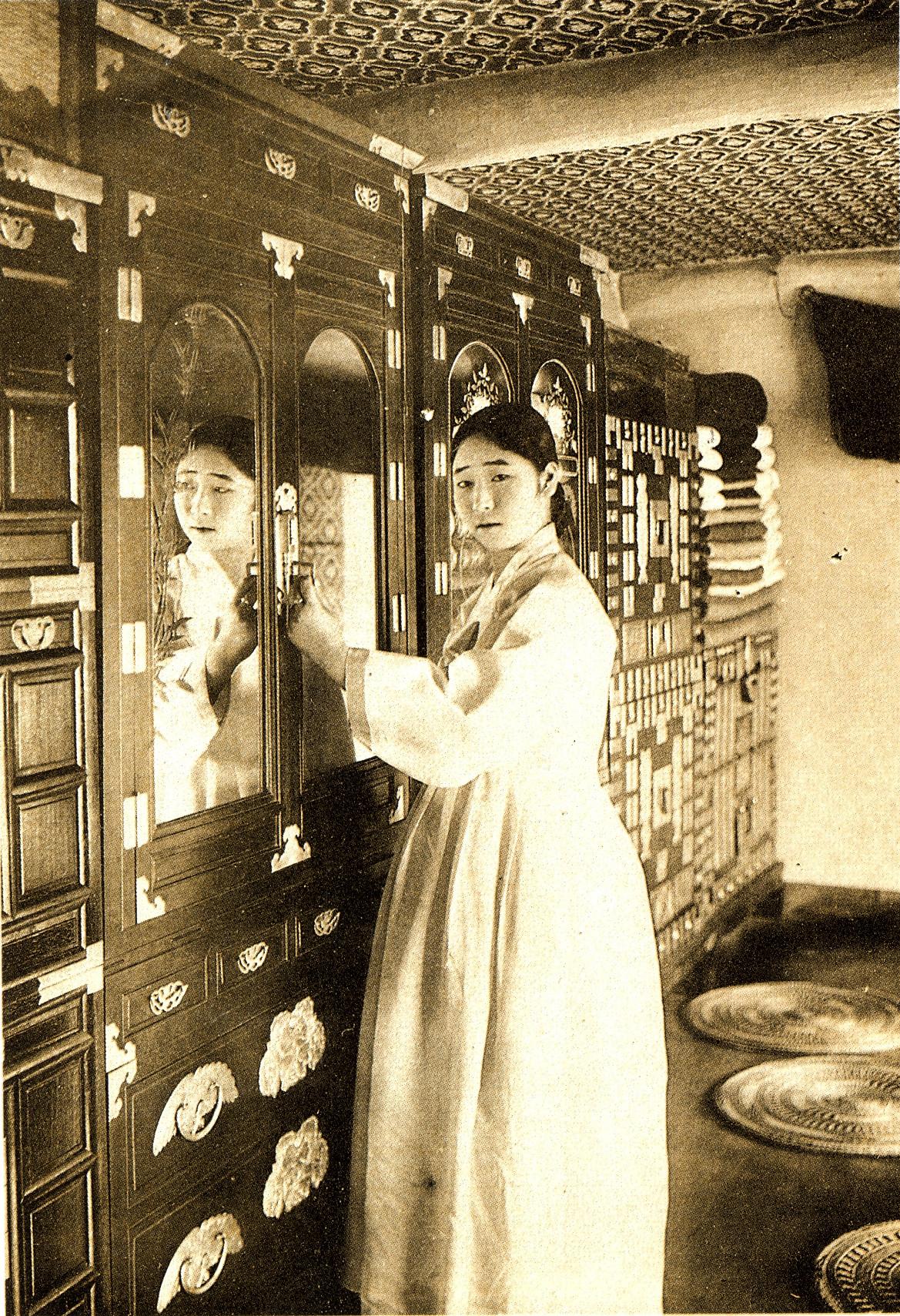 ▲▼朝鮮女子(圖/翻攝自維基百科)
