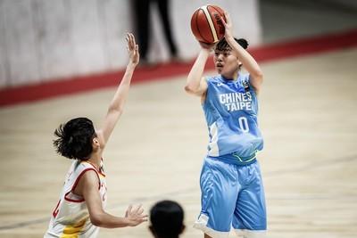 亞洲U18女籃賽 中華隊無緣4強