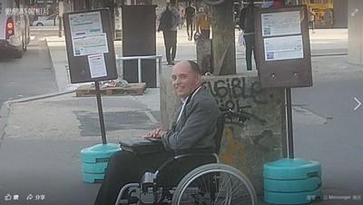 身障男沒人讓位…霸氣司機只載他