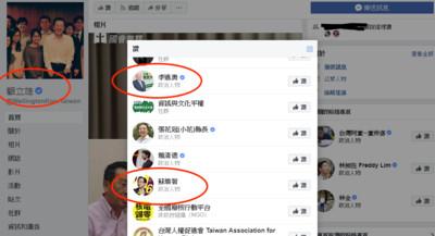 綠營高官帶頭違法 在候選人臉書按讚