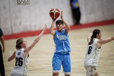 U18亞洲女籃賽 中華隊名列第六
