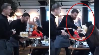 影/服務員「翻臉砸蛋糕」嚇退女奧客 老闆支持:我挺我的員工