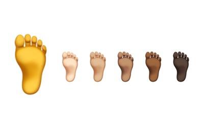 蘋果新Emoji腳底板膚色惹議