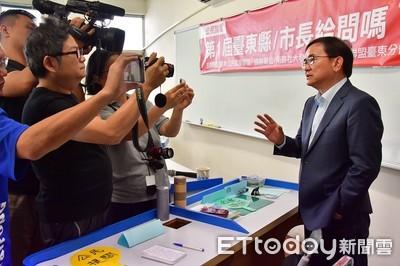 參加公民提問 劉櫂豪盼促成縣長辯論