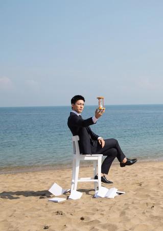 ▲▼《艾蜜麗的五件事》鍾瑶、王家梁拍攝形象照。(圖/東森)