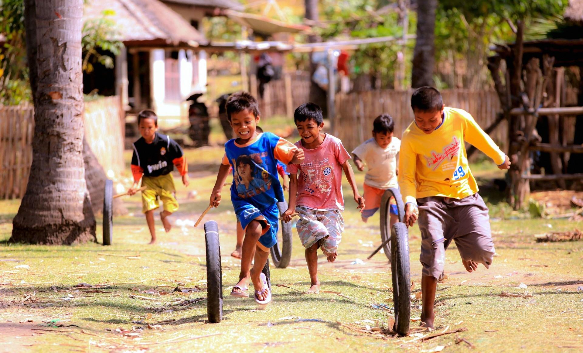 ▲ 小孩玩遊戲。(圖/取自免費圖庫pixabay)