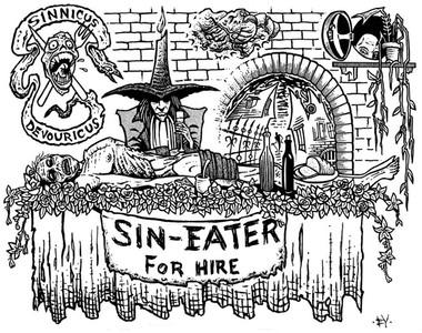 把罪轉移給別人!中古歐洲職業「食罪者」 吃掉屍體上的食物救贖靈魂
