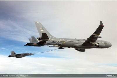 南韓空軍即將接收首架空中加油機
